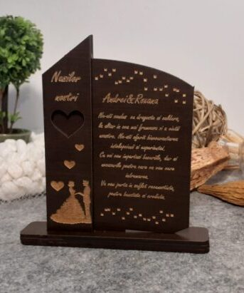 Multumiri nasilor nostri, dar personalizat trofeu nasi